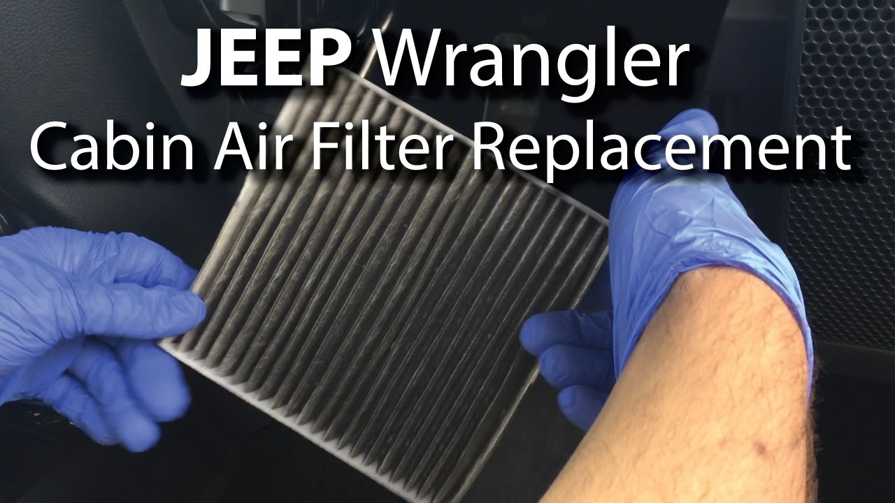 Service Manual 2010 Jeep Patriot Cab Air Filter Removal Air Filter Replacement Jeep Wrangler