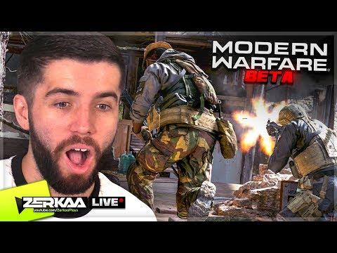🔴 MODERN WARFARE MULTIPLAYER BETA GAMEPLAY LIVE with Vikkstar123 (Modern Warfare)