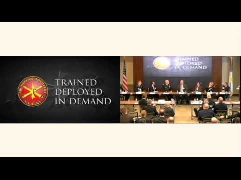 Army Air & Missile Defense Hot Topic 2016 - Panel 2: Enable the Defeat of Air and Missile Threats