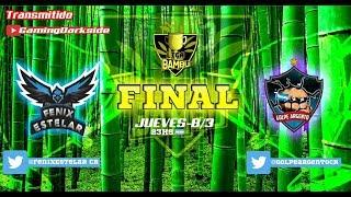 Clash Royale! Gran final de la Liga Bambú hoy en directo!!