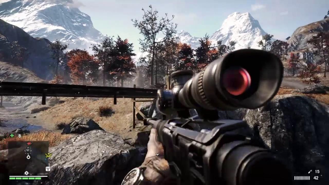 Far Cry 4 AMR Vs  Pagan's Wrath Convoy