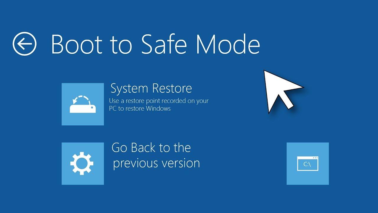 Cách Để Vào Chế Độ Start Safe Mode in Windows 10