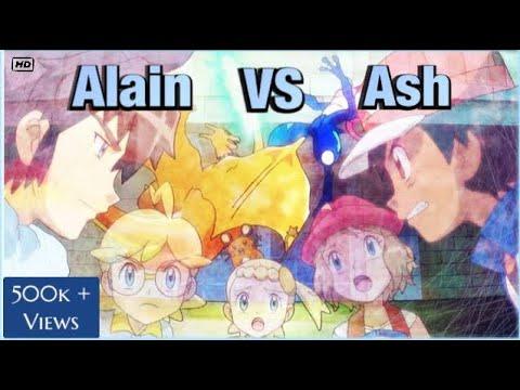 Ash vs Alain full battle [AMV]