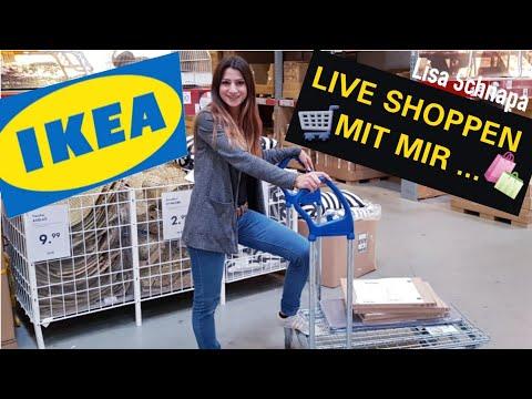 shoppen-im-ikea-live- -im-möbelhaus-einkaufen- -haul- -lisa-schnapa