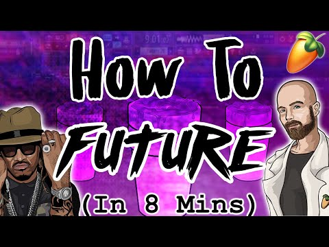 From Scratch: A Future song in 8 minutes   FL Studio 20 tutorial