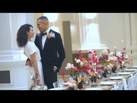 Andaz London Liverpool street hotel- Wedding inspiration shoot- Traditional modern