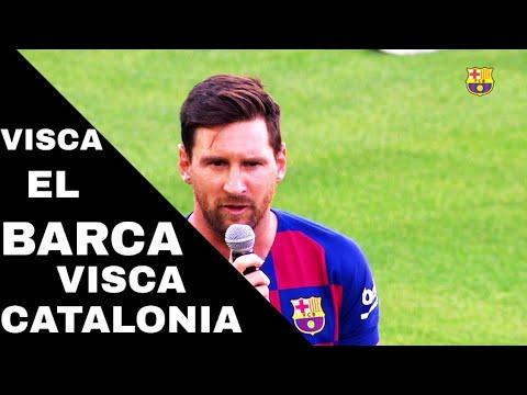 Visca El Barca Visca Catalonia || Messi Y Valverde Hablan Sobre La Próxima Temporada 2019/20 ||