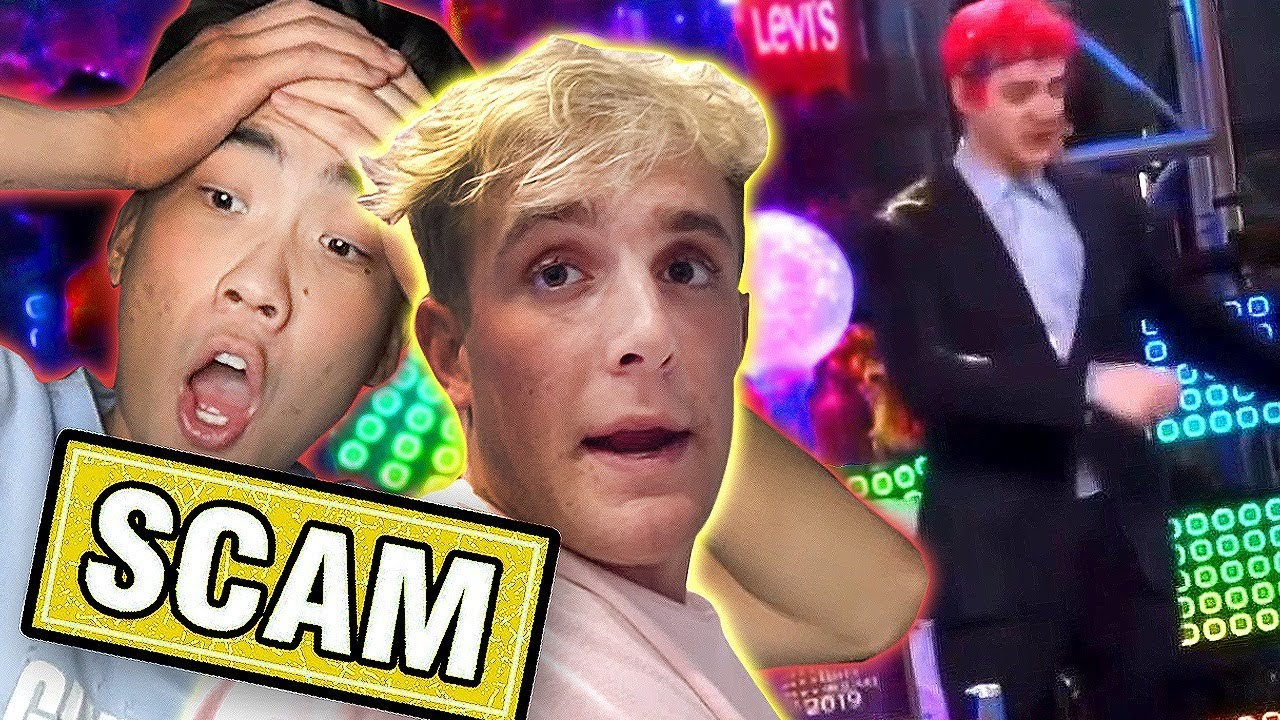 Jake Paul & Ricegum SCAM Mystery unbox ? / Ninja New Years Cringe /