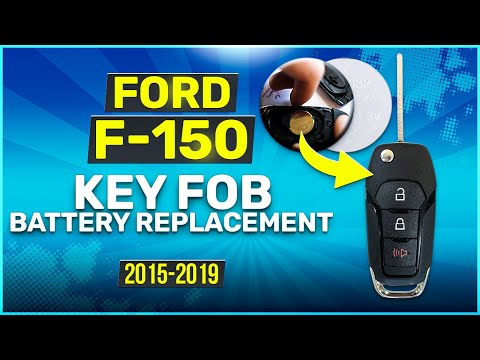 2015 - 2019 Ford F-150 Key Fob Battery Replacement