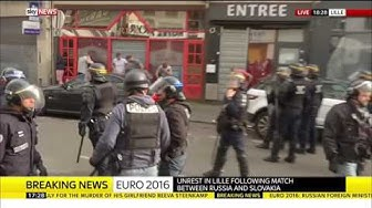 Euro 2016 Violence In Lille