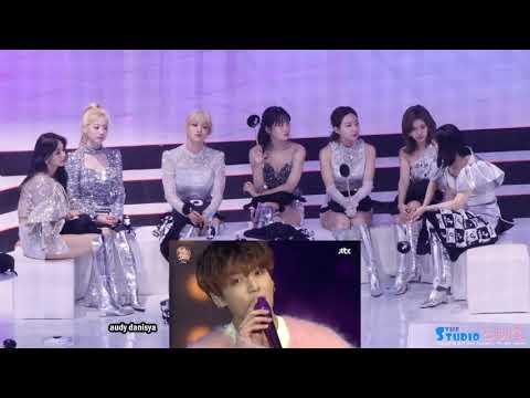 TWICE Reaction To BTS - 'BWL+SKOOL LUV AFFAIR+DIMPLE+MIKROKOSMOS+VCR+DIONYSUS' | GDA 2020 (Day 2)