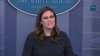 10/31/17: White House Press Briefing