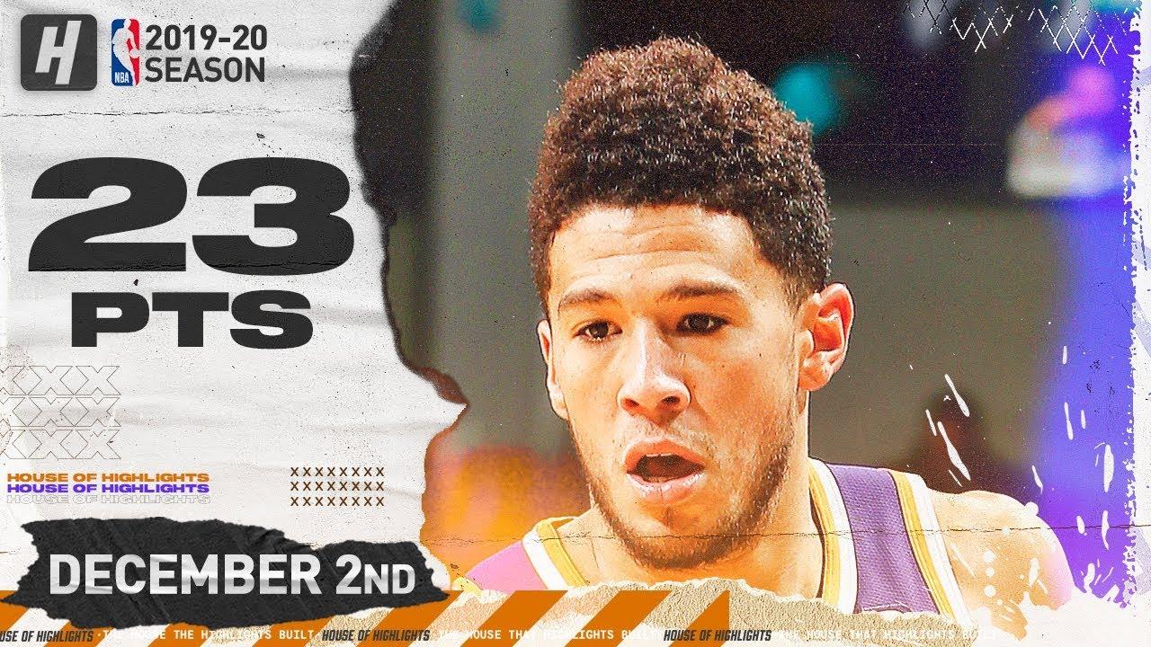 Download Devin Booker 23 Pts Full Highlights   Suns vs Hornets   December 2, 2019