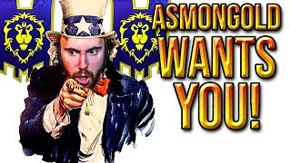 Asmongold Desperate Plea PLAY ALL ANCE ON FAERL NA Classic WoW Release