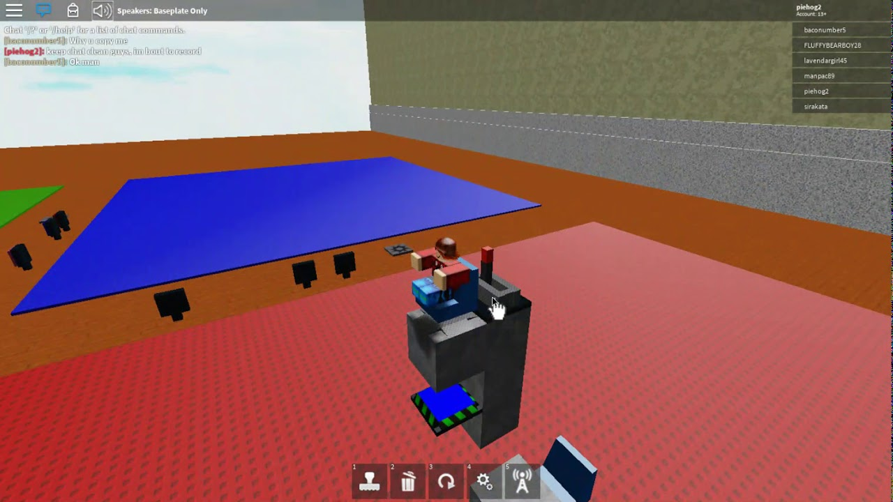 Welcome to roblox building, How to build flying machine 27