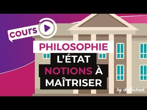 L'Etat : notions à maîtriser - Philosophie - digiSchool