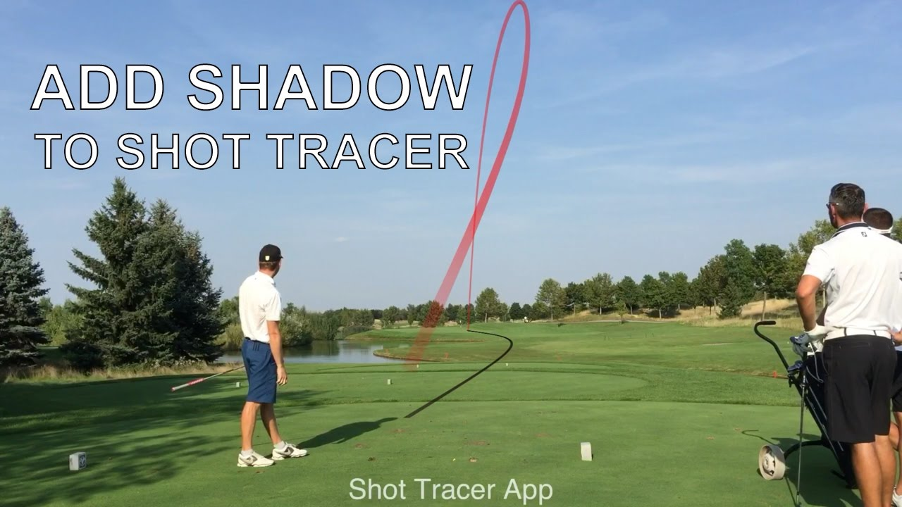 shot tracer tutorial adding shadow effect youtube