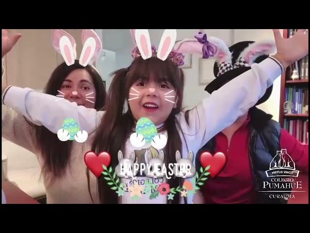 Familias del Colegio Pumahue Curauma desean a la comunidad una Feliz Pascua