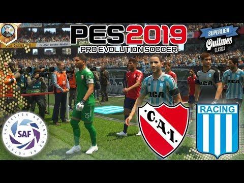 Pro Evolution Soccer 2019 | Independiente Vs Racing Club - Superliga Argentina