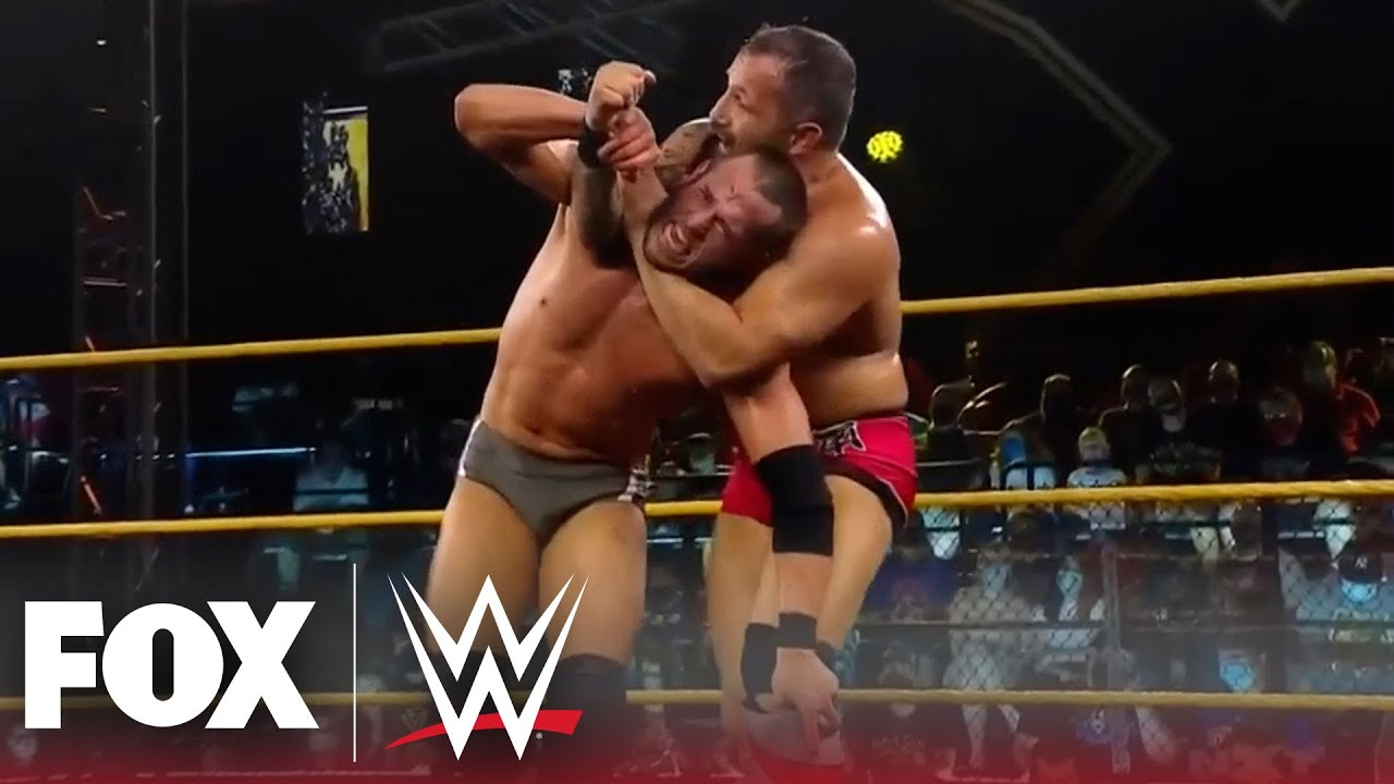 Bobby Fish and Roderick Strong collide   NXT   WWE ON FOX