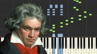 Beethoven: Quasi una fantasia (Sonata No.13, Op.27, 1st Movement) | [Piano Tutorial] - Synthesia