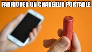 Fabriquer sa batterie externe !