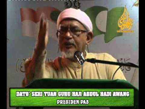 Penjelasan TG Haji Hadi Berkaitan Pertindihan Calon Sesama Pakatan Rakyat