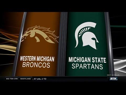 Western Michigan at Michigan State  Football Highlights