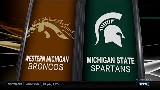 Western Michigan at Michigan State - Football Highlights