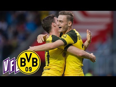 4 Goals from Bruun Larsen & Alcácer's Debut | VfL Osnabrück - BVB 0:6 | Full Highlights