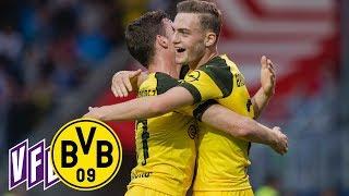 4 Goals from Bruun Larsen & Alcácer