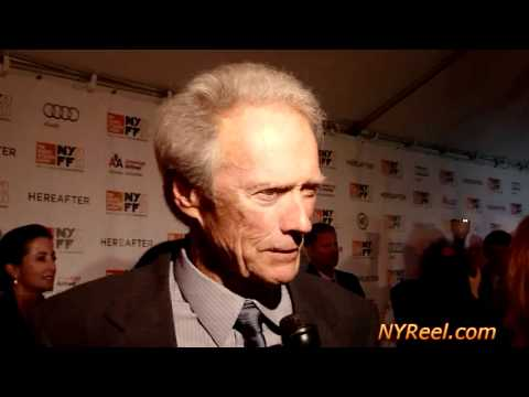 Clint Eastwood Attends Hereafter Premiere,  NY Film Festival
