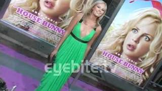 Ashley Tisdale, Hugh Hefner, Amber Heard, Malin Akerman At The House Bunny Premiere In Los Angeles