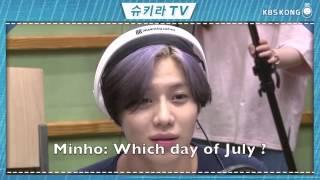 [ENG SUB] 150613 SHINee Taemin sulking when Minho forgets his birthday