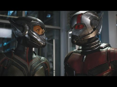 NEW 'AntMan and the Wasp' : Paul Rudd and Evangeline Lilly Team Up!