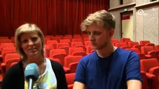 Spinvis & Mastercab in Koor | atv nieuws (aankondiging concert)