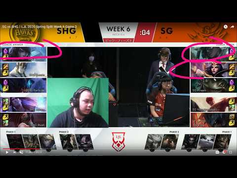 SHG Vs SG LJL Spring Week 6 2020 日本語レビュー