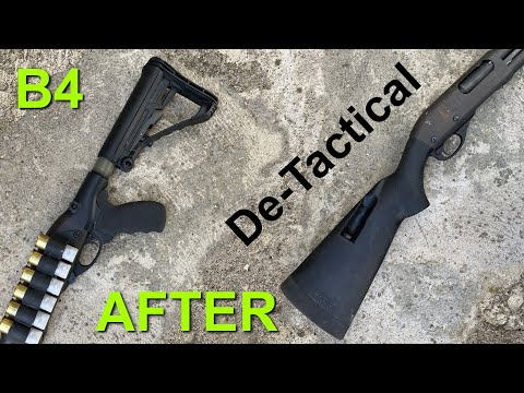 12 Ga. with a Broken Hand || De-Tactical Shotgun