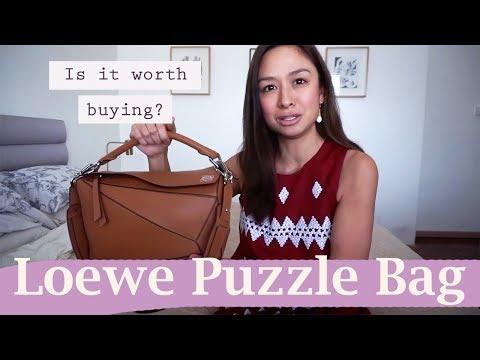 Is the Loewe Puzzle Bag worth buying?! || Kelly Misa-Fernandez