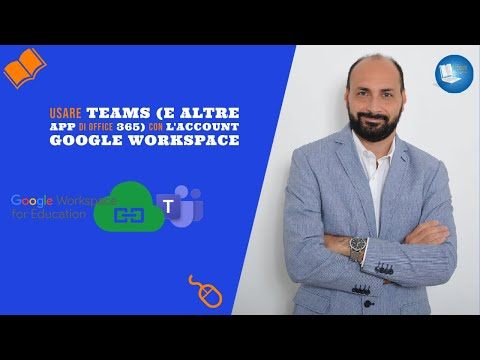 Usare Teams (e altre app di Office 365) con l'account G Suite for Education