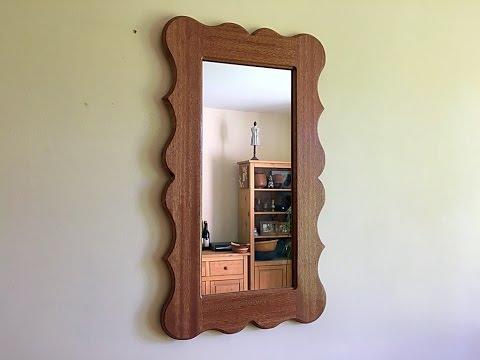 Making a mirror frame!
