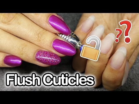 The Perfect drill bit to achieve flush cuticles | Acrylic Nails | ToDacUsa