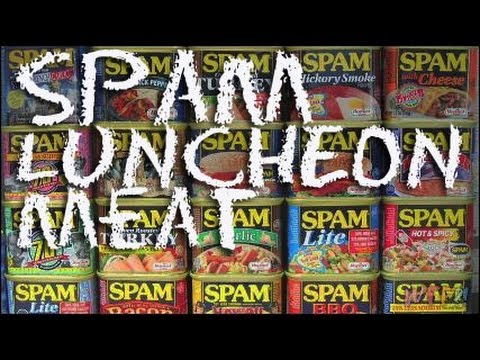 What Is SPAM Luncheon Meat? / Hawaiian Spam Musubi Recipe