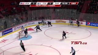 Finland vs USA  IIHF World Junior 2015 HD  Day 1 (26.12.2014)