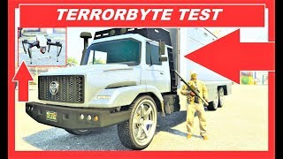 GTA 5 Online new Benefactor TERRORBYTE Test , best weaponized vehicles , After Hours DLC