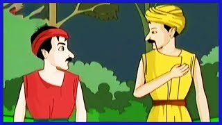 Tales Of Panchatantra | The Bear and The Two Travelers | Tamil | KidRhymes