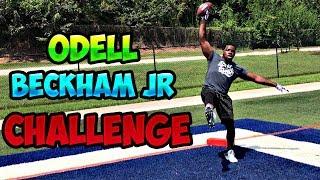 Odell beckham jr one handed irl football challenge (obj)