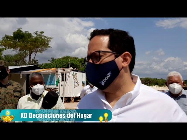 Declaraciones del director de la alianza público-privada en su visita a Pedernales