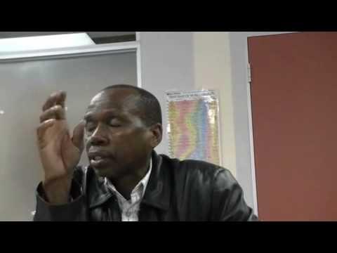 Robert Sikhosana exploring indigenous knowledge at Durban University of Technology