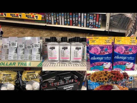 Dollar Tree Fall 2019 + Back 2 School Come with ME
